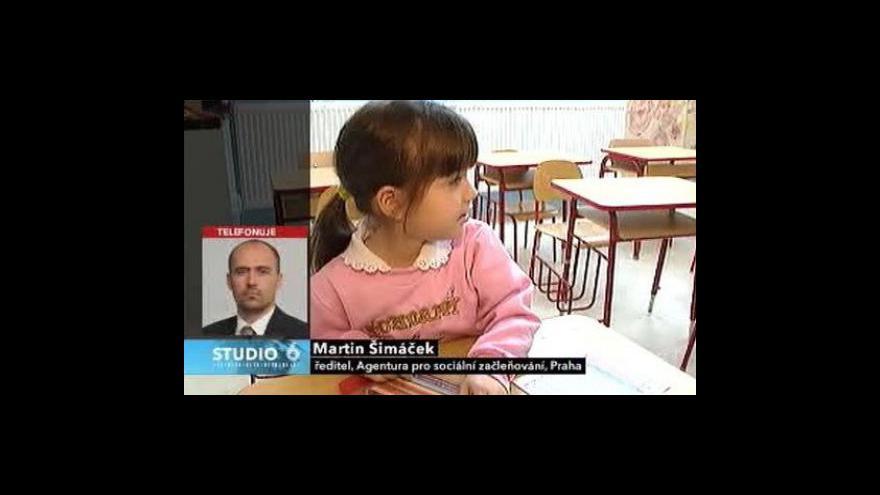 Video Ředitel agentury Martin Šimáček ve Studiu ČT24