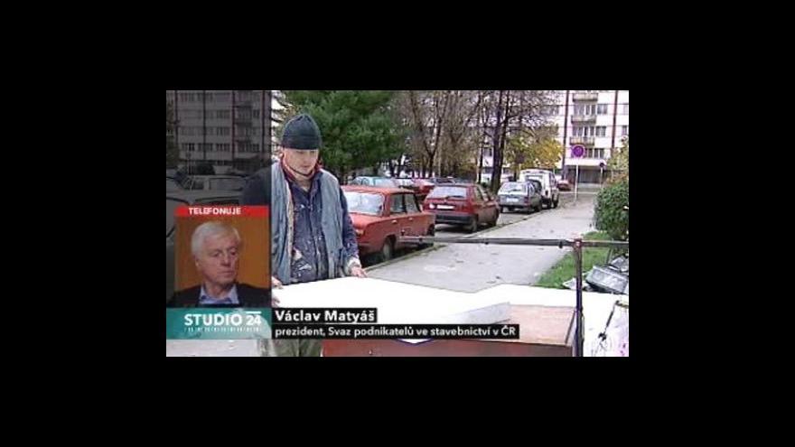 Video Komentář Václava Matyáše