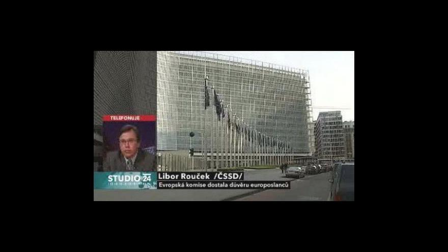 Video Europoslanci schválili novou komisi