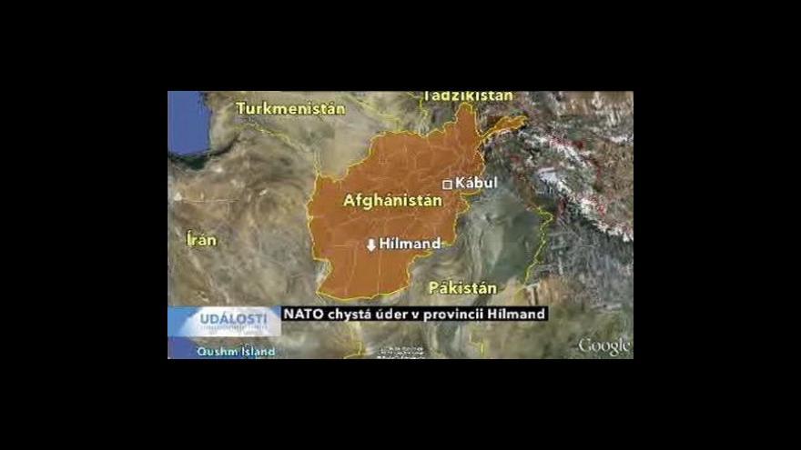 Video NATO chystá úder v provincii Hilmand
