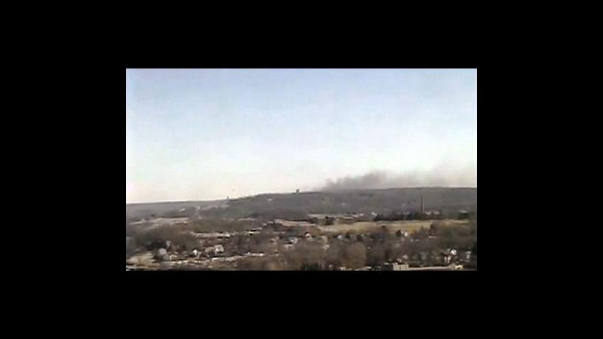 Video Výbuch zničil elektrárnu Kleen
