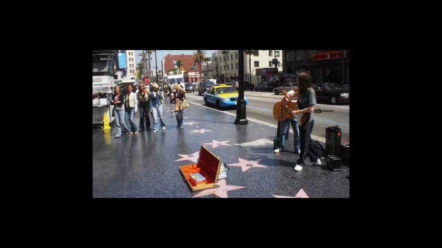 Video Studio 6 o chodníku slávy