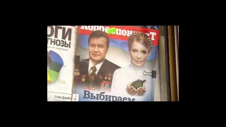 Video Janukovyč vyhrál prezidentské volby na Ukrajině