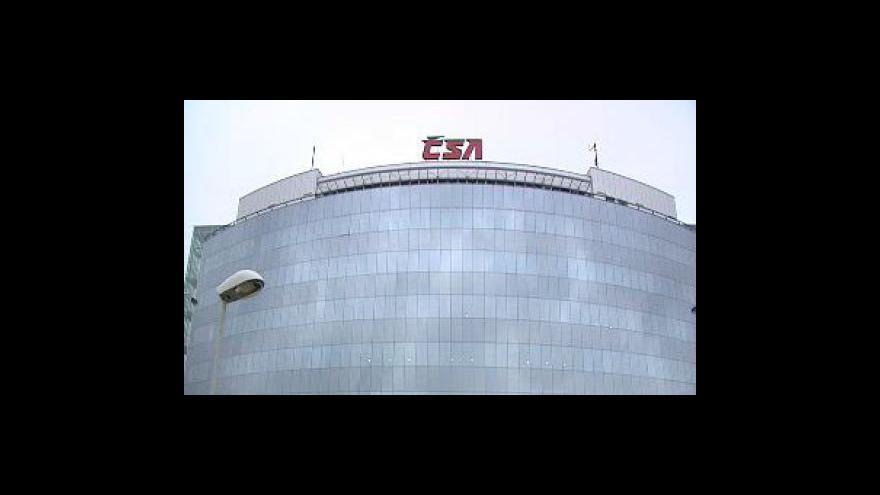 Video ČSA začne spolupracovat s konkurencí na charterech