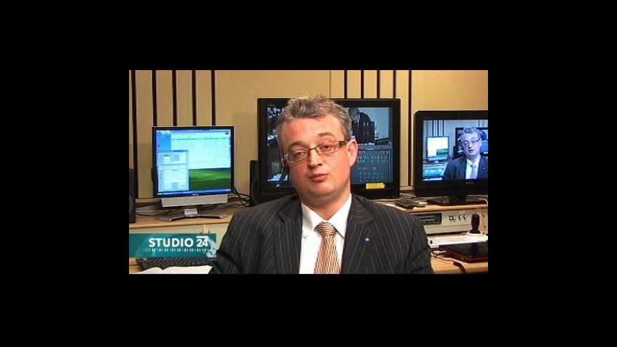 Video Studio ČT24 - rozhovor s Markem Bendou