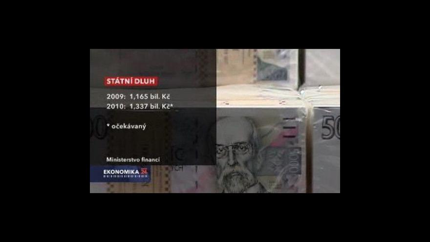 Video Stát vydává dluhopisy