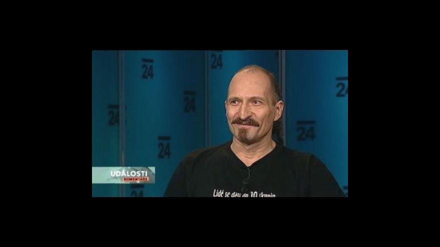 Video Václav Bláha hostem Událostí, komentářů
