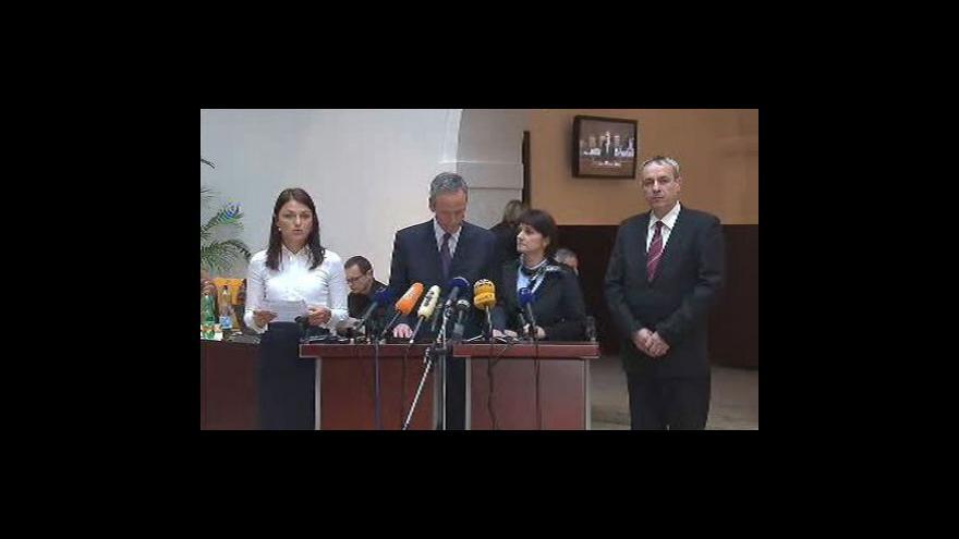 Video Brífink KDU-ČSL a Eduarda Janoty