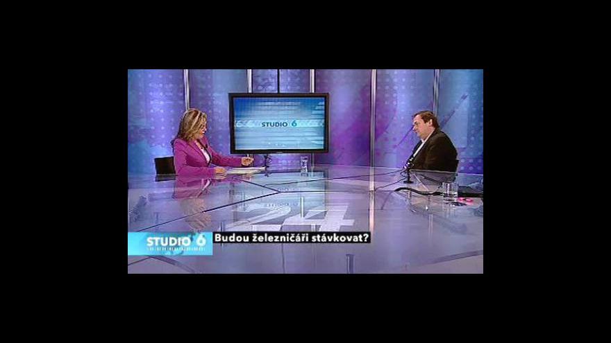 Video Rozhovor s Jaroslavem Pejšou, předsedou Odborového sdružení železničářů