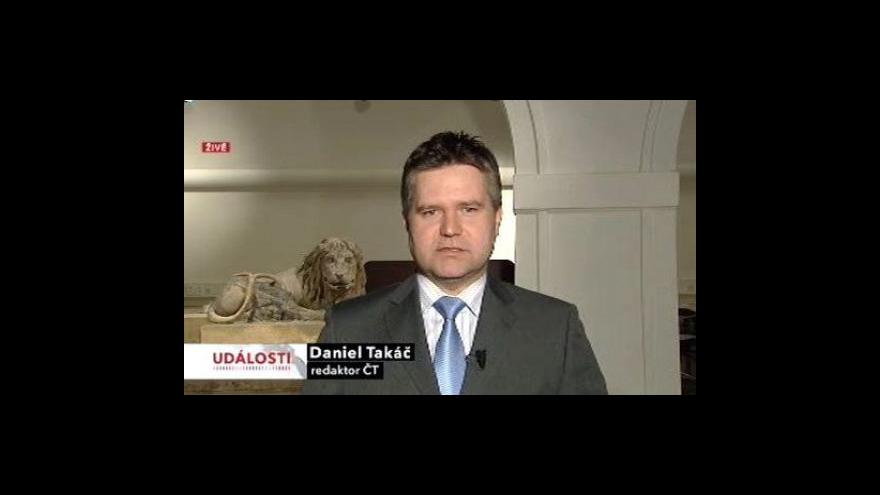 Video Vstup Daniela Takáče