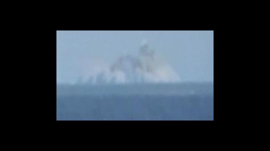 Video Výbuch podmořské sopky