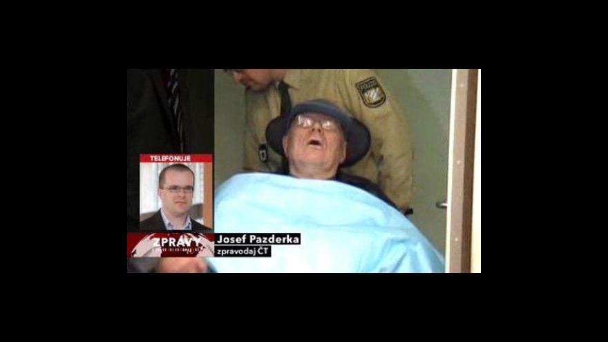 Video Telefonát Josefa Pazderky z Moskvy