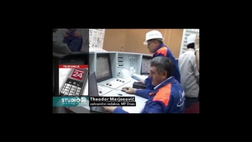 Video Studio ČT24 - Vývoz íránského uranu