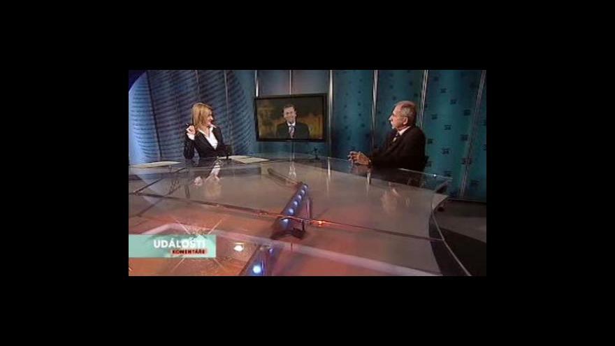 Video Michal Doktor a Stanislav Křeček v pořadu Události, komentáře
