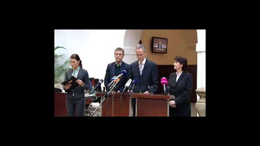 Video TK KDU-ČSL k financování sportu