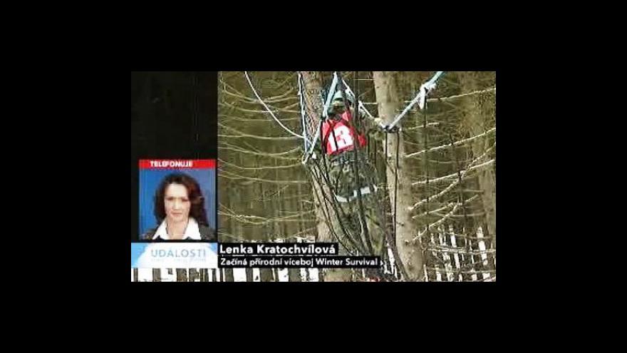 Video Telefonát Lenky Kratochvílové
