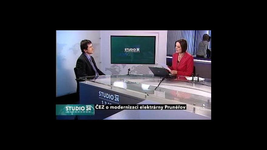 Video Studio ČT24: Modernizace elektrárny Prunéřov