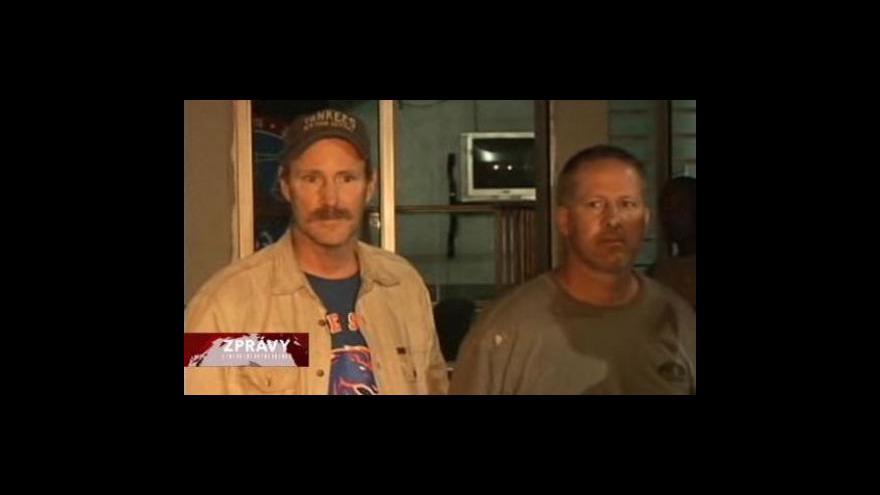 Video Haiti zadrželo deset Američanů