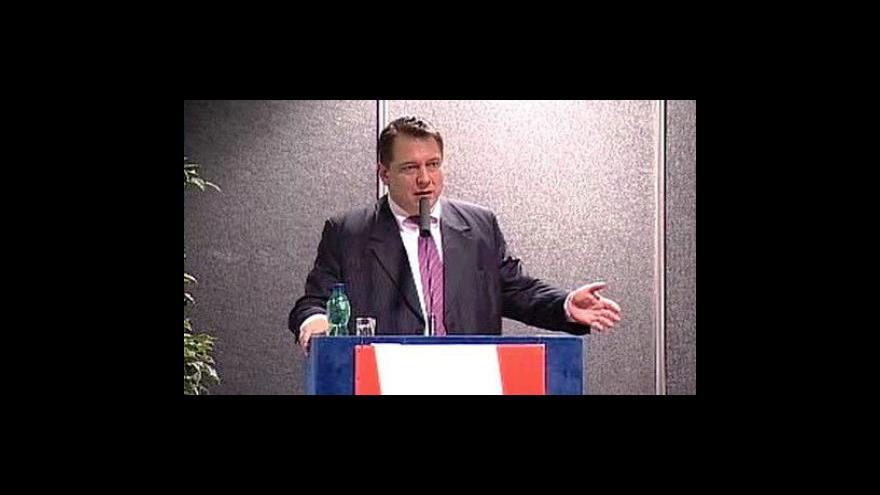 Video Projev Jiřího Paroubka na ÚVV ČSSD