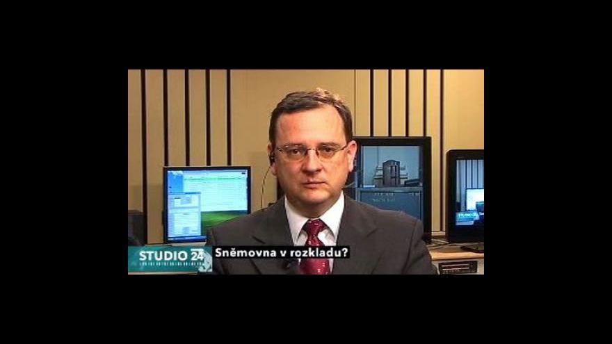 Video Studio ČT24 - Petr Nečas a Pavel Kováčik