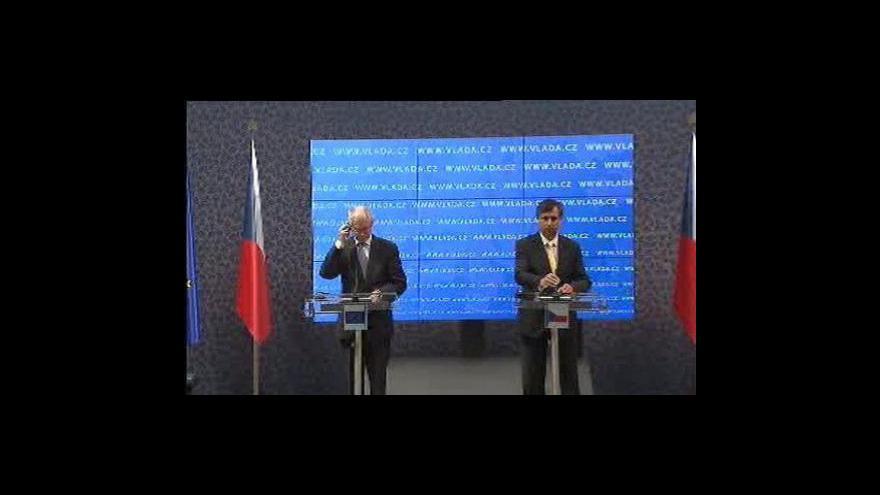 Video Studio ČT24 o návštěvě Van Rompuye