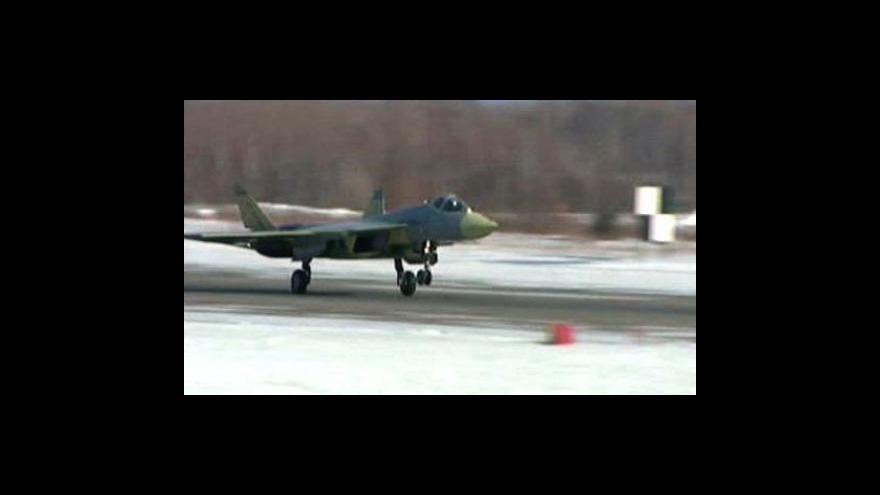 Video První let T-50