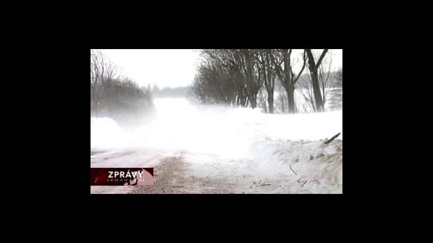 Video Počasí trápí řidiče