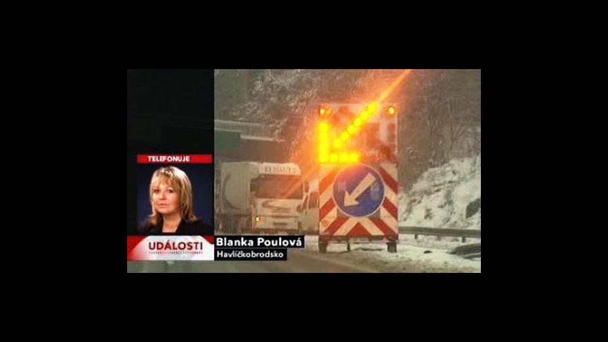 Video Dopravní blok ve 12:00