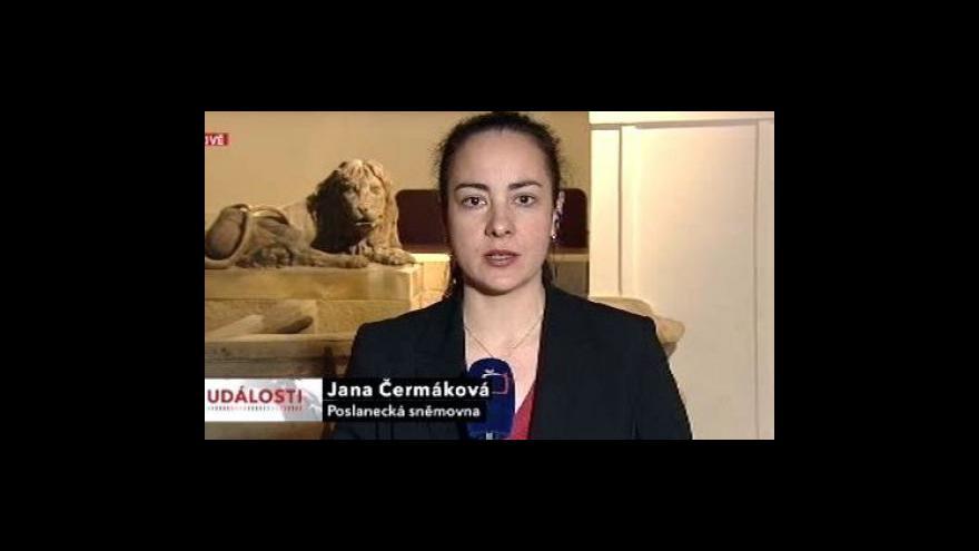 Video Reportáž Olgy Málkové, vstup Jany Čermákové