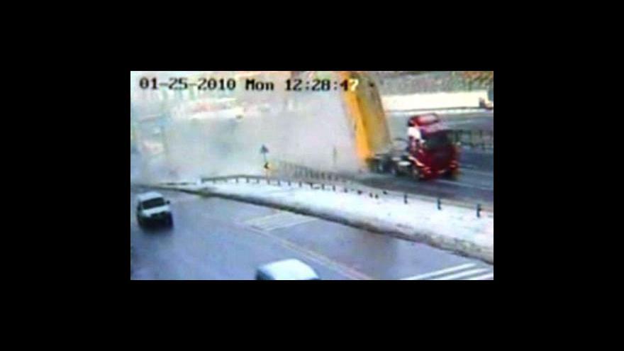 Video Kuriózní nehoda v Turecku