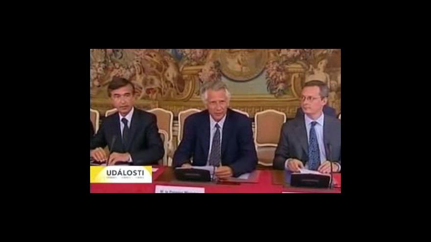 Video Villepin nevinen