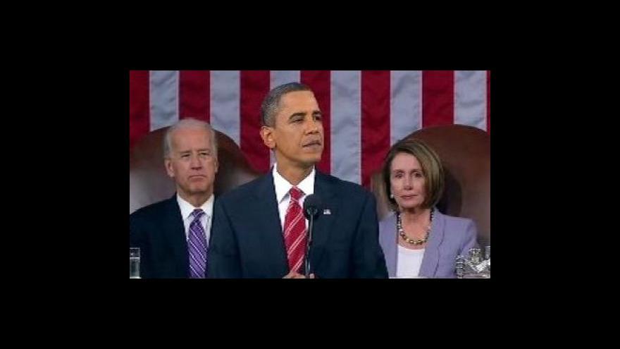 Video Obama o stavu Unie