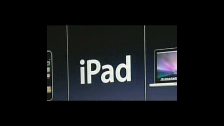 Video Steve Jobs představil očekávaný iPad