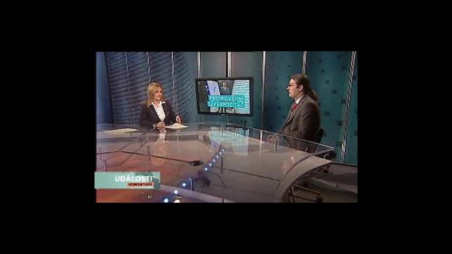 Video Události, komentáře o počítači Saxana