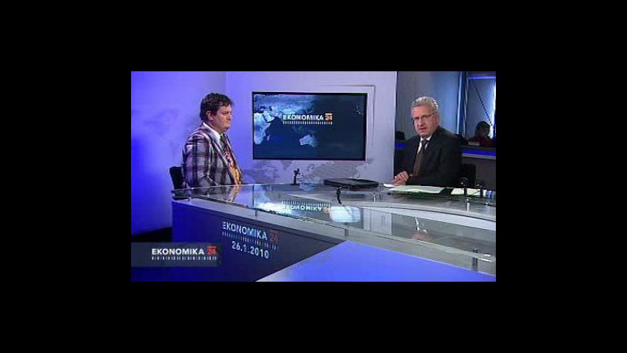 Video Rozhovor s ekonomem VŠE Petrem Bartoněm
