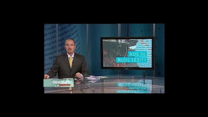 Video Události, komentáře o těžebních limitech