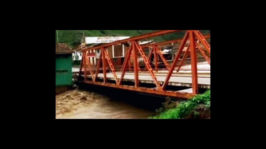 Video V Peru jsou záplavy