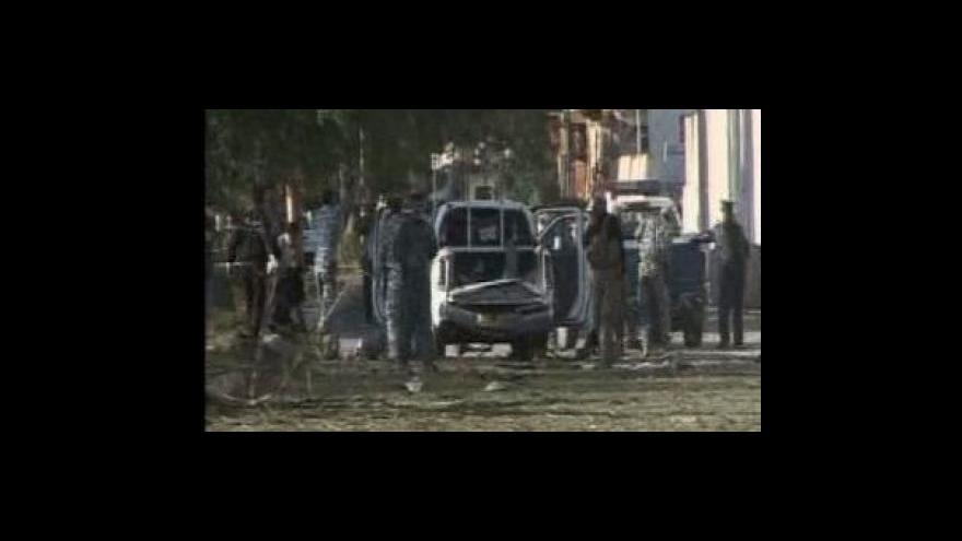 Video Série útoku v Bagdádu zabila desítky lidí