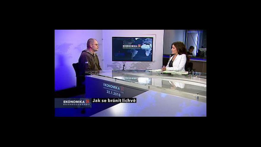 Video Daniel Hůle ve Studiu ČT24
