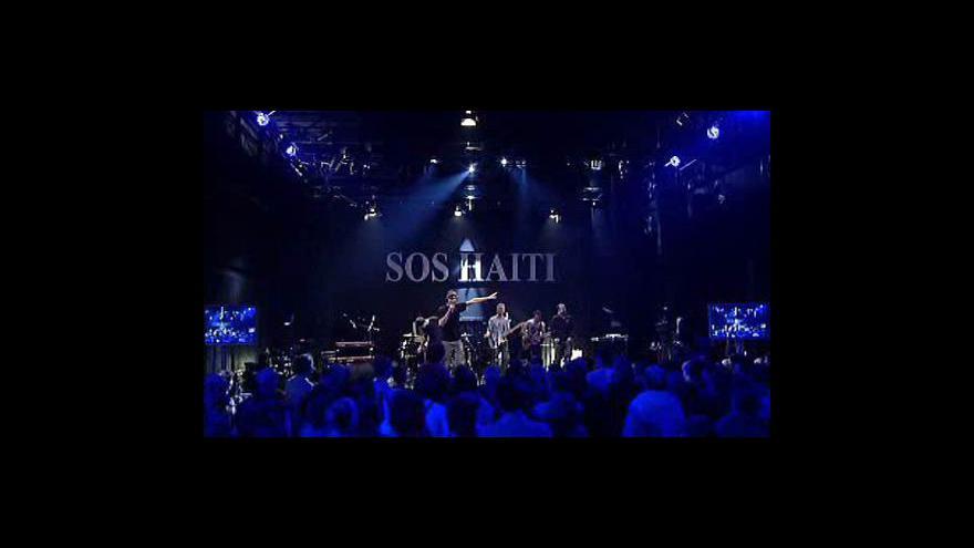 Video Praha hostila koncert na pomoc Haiti