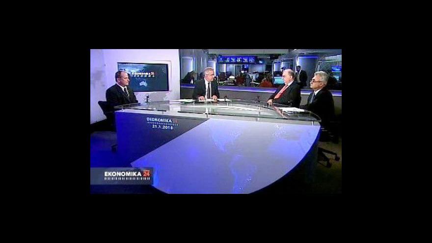 Video Ekonomika ČT24: Jak z krize podle tripartity