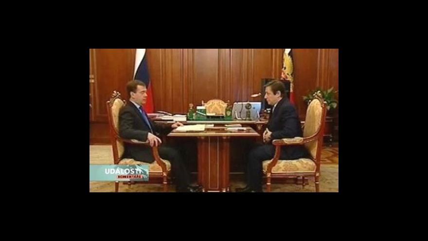 Video Události, komentáře - Medveděvův místodržící