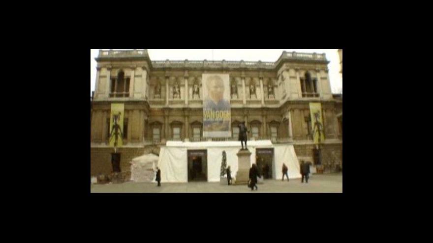 Video Vincent van Gogh v Londýně