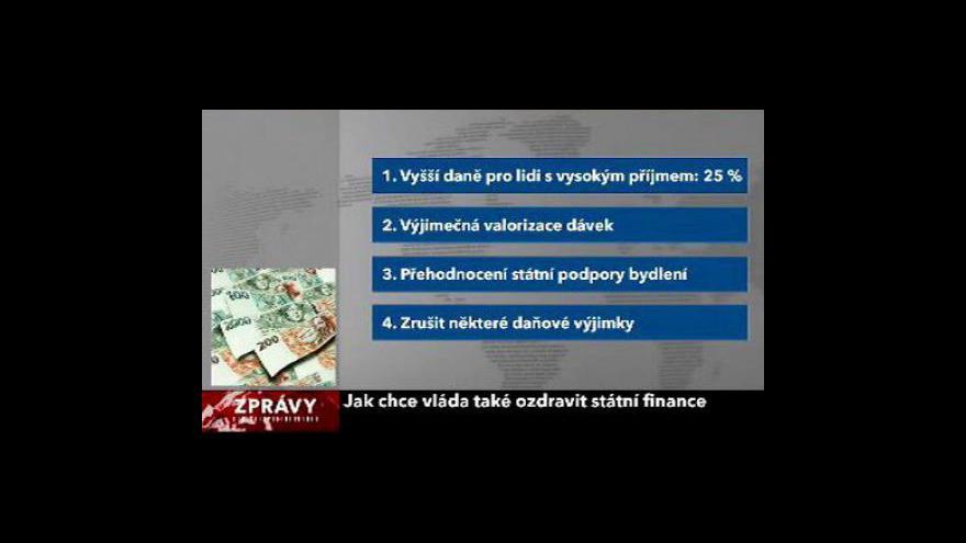 Video Tripartita projedná protikrizové návrhy vlády