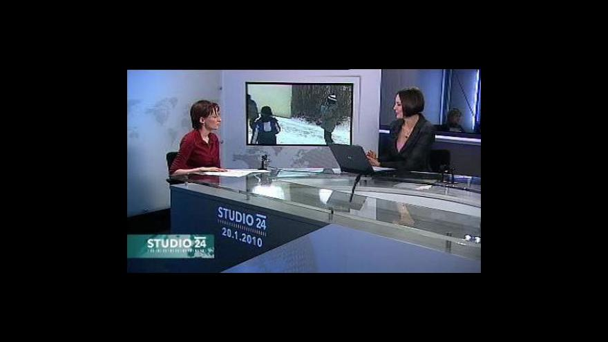 Video Demografka Michaela Němečková ve studiu ČT24