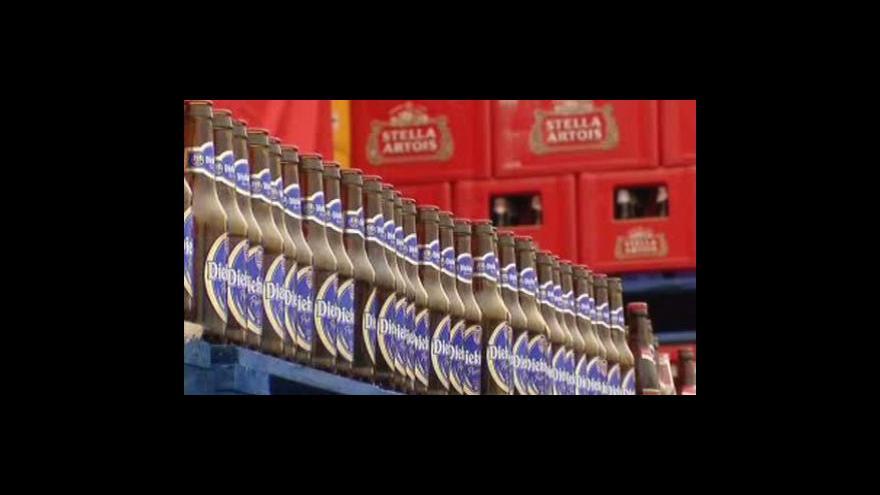 Video Pivní stávka v Belgii