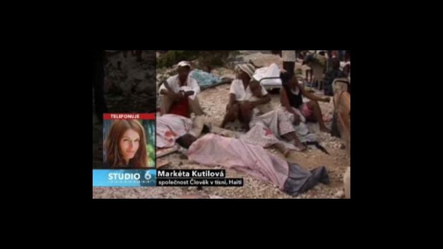 Video Rozhovor s Markétou Kutilovou z organizace Člověk v tísni