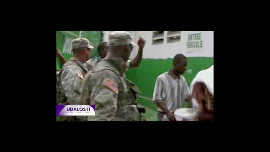 Video Bezpečnostní situace na Haiti se začíná uklidňovat