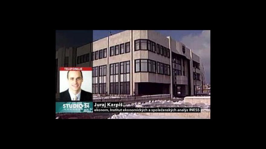 Video Komentář Juraje Karpiše