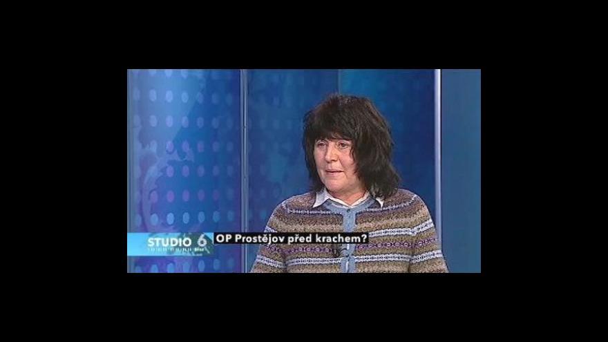 Video Jana Máchalová ve Studiu 6